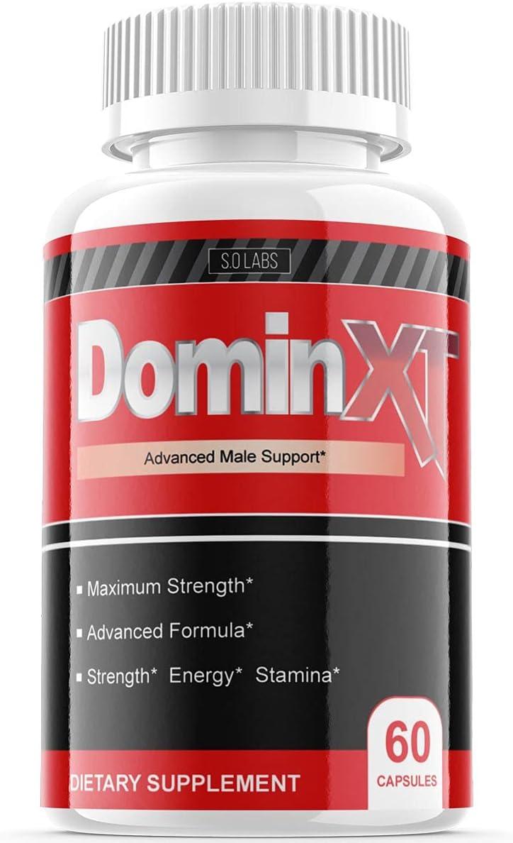 Dominxt Muscle Formula Pills Advance Booster Supplement XT Builder (1 Pack)