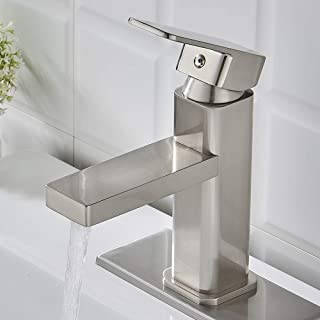 single hole sink faucet