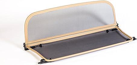 Deflector de Viento con Cierre R/ápido Parabrisas para descapotable - Plegable TiefTech Deflector de Viento para VW Beetle 5C7 Descapotable 2012 en adelante Negro Deflector de Aire