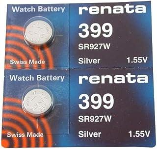#399 Renata Watch Batteries 2Pcs