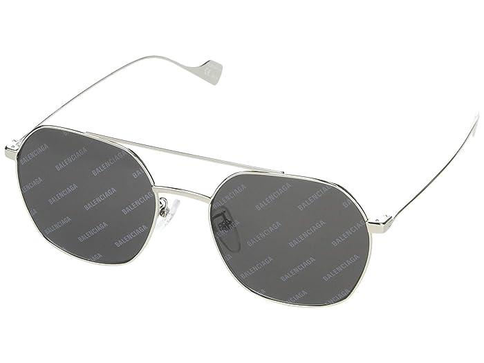 Balenciaga  BB0089SK (Silver) Fashion Sunglasses