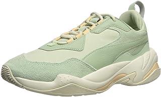 PUMA 女士 Thunder 运动鞋 Smoke Green-silver Green 9 M US