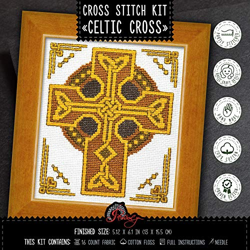 Counted Cross Stitch Kit 'Celtic Cross'