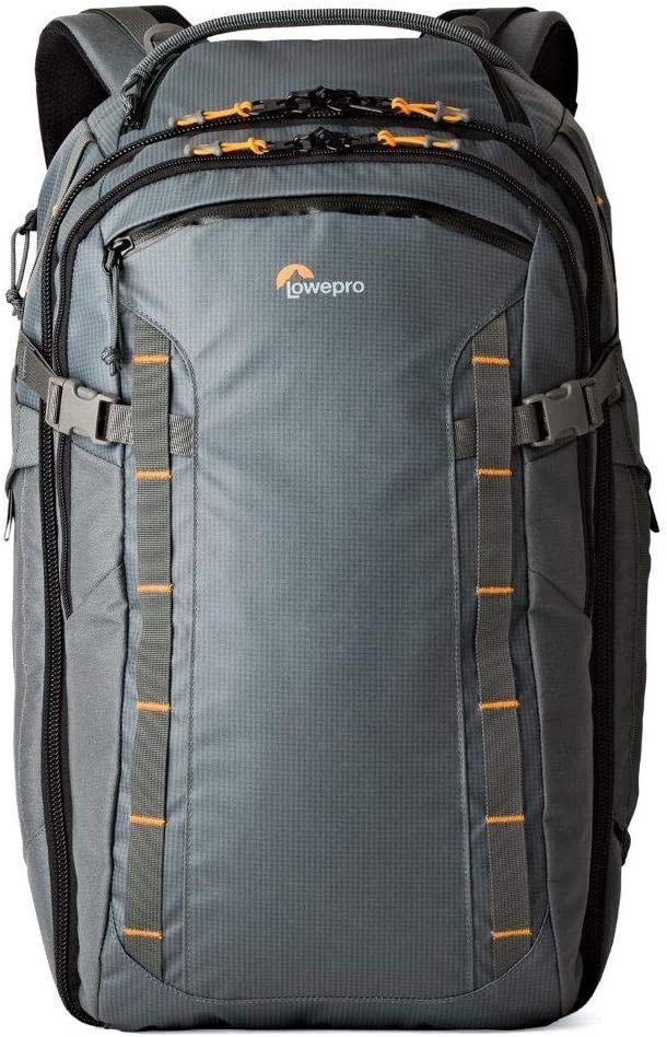 Weatherproof /& rugged 22-liter daypack for adventurous travelers who carry modern devices into any location Lowepro HighLine BP 300 AW