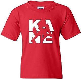Kane Fan Wear Ice Hockey Sports Youth Kids T-Shirt Tee
