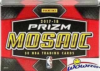 2017/18 Panini PRIZM MOSAIC Basketball Factory Sealed HOBBY BOX! Look for Rookies & Autographs of Donovan Mitchell, Jayson Tatum, Lonzo Ball, Kyle Kuzma & Many More! WOWZZER!