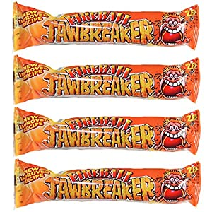 fireball hot jawbreaker balls 4 packs zed candy novelty bubblegum sweets (pack of 4) Fireball Hot Jawbreaker Balls 4 Packs Zed Candy Novelty Bubblegum Sweets (Pack of 4) 61OWkvSn ZL