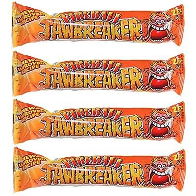 fireball hot jawbreaker balls 4 packs zed candy novelty bubblegum sweets (pack of 4) Fireball Hot Jawbreaker Balls 4 Packs Zed Candy Novelty Bubblegum Sweets (Pack of 4) 61OWkvSn ZL