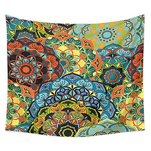 YYRAIN Tapiz Impreso Colorido Toalla De Playa Multifuncional Decoración del Hogar Fondo De Pared Ropa De Cama Colcha 35.43x27.55 Inch{90x70cm} A
