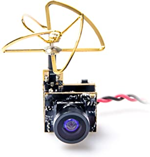 AKK S2 5.8G 48CH 25mW VTX 600TVL 1/3 Cmos AIO FPV Camera with Clover Antenna for FPV Drone Like Tiny Whoop Blade Inductrix etc
