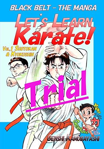Let's Learn Karate! -Trial-: Black Belt -The Manga(Comics) (English Edition)