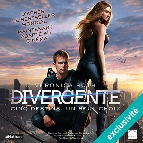 Divergente (Divergente 1) audiobook cover art