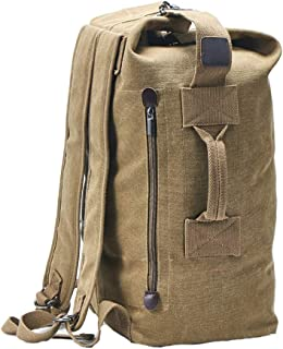canvas duffle backpack