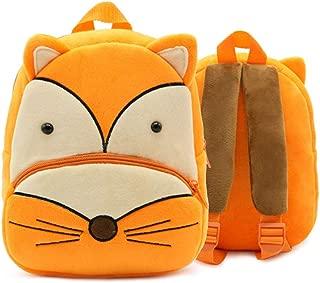 Cute Cartoon Animal Backpack Toddler School Bag for Children Baby Girls Boys(Fox)