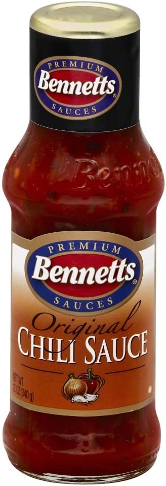 Bennetts Chili Sauce Outstanding 12 fl Pack of 8 oz New Free Shipping