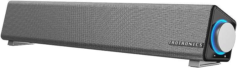 TaoTronics Computer Speakers, Wired Computer Sound Bar, Stereo USB Powered Mini Soundbar..