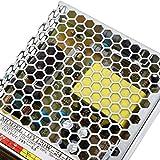 120W 24V 5A Fuente de alimentación conmutada Potencia Suficiente Adaptador de Controlador de Carcasa de Aluminio galvanizado Durable para Carteles publicitarios