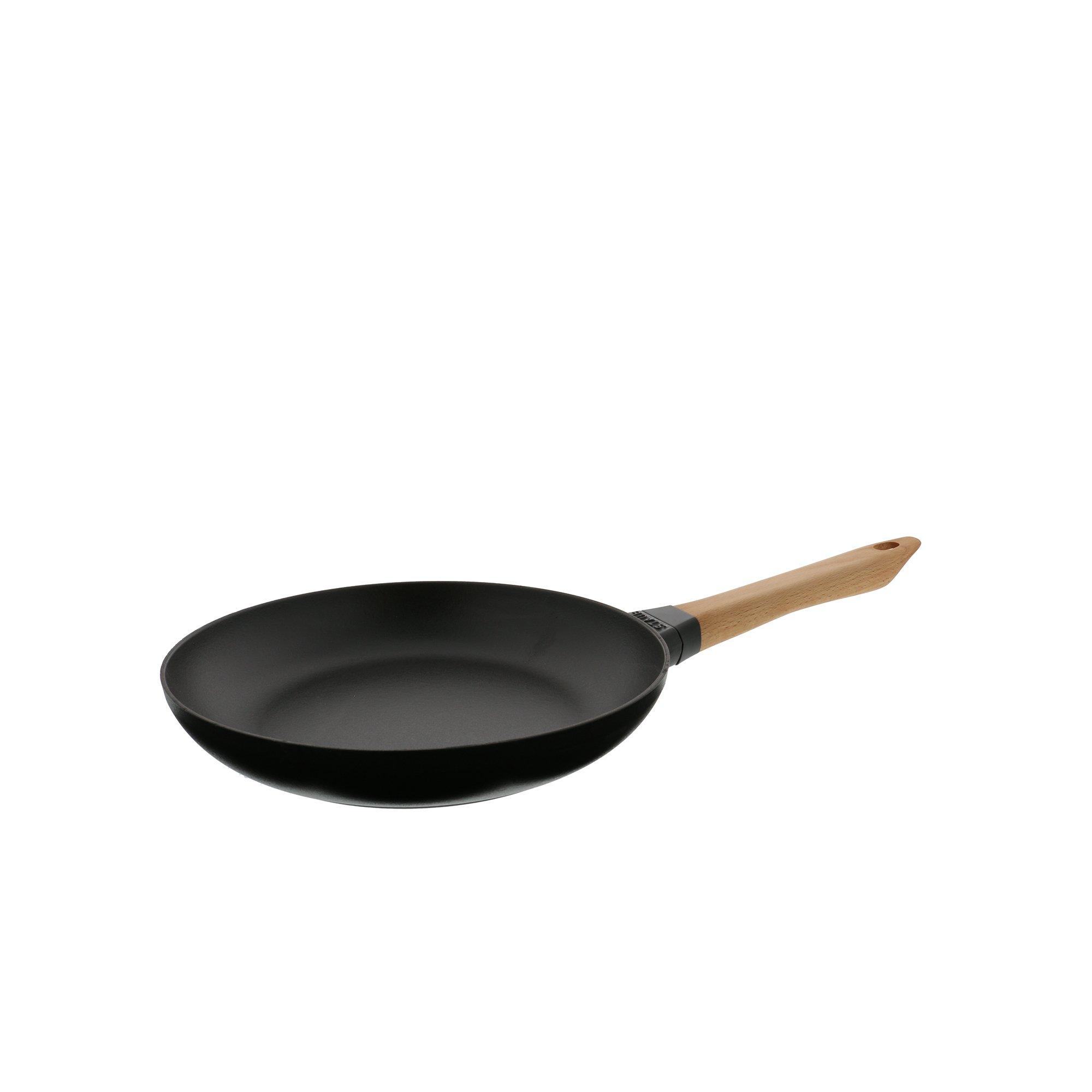 4.75-inch Black Matte Staub 1221223 Cast Iron Mini Frying Pan
