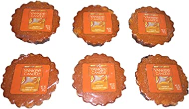 Yankee Candle Lot of 6 Honey Clementine Tarts Wax Melts