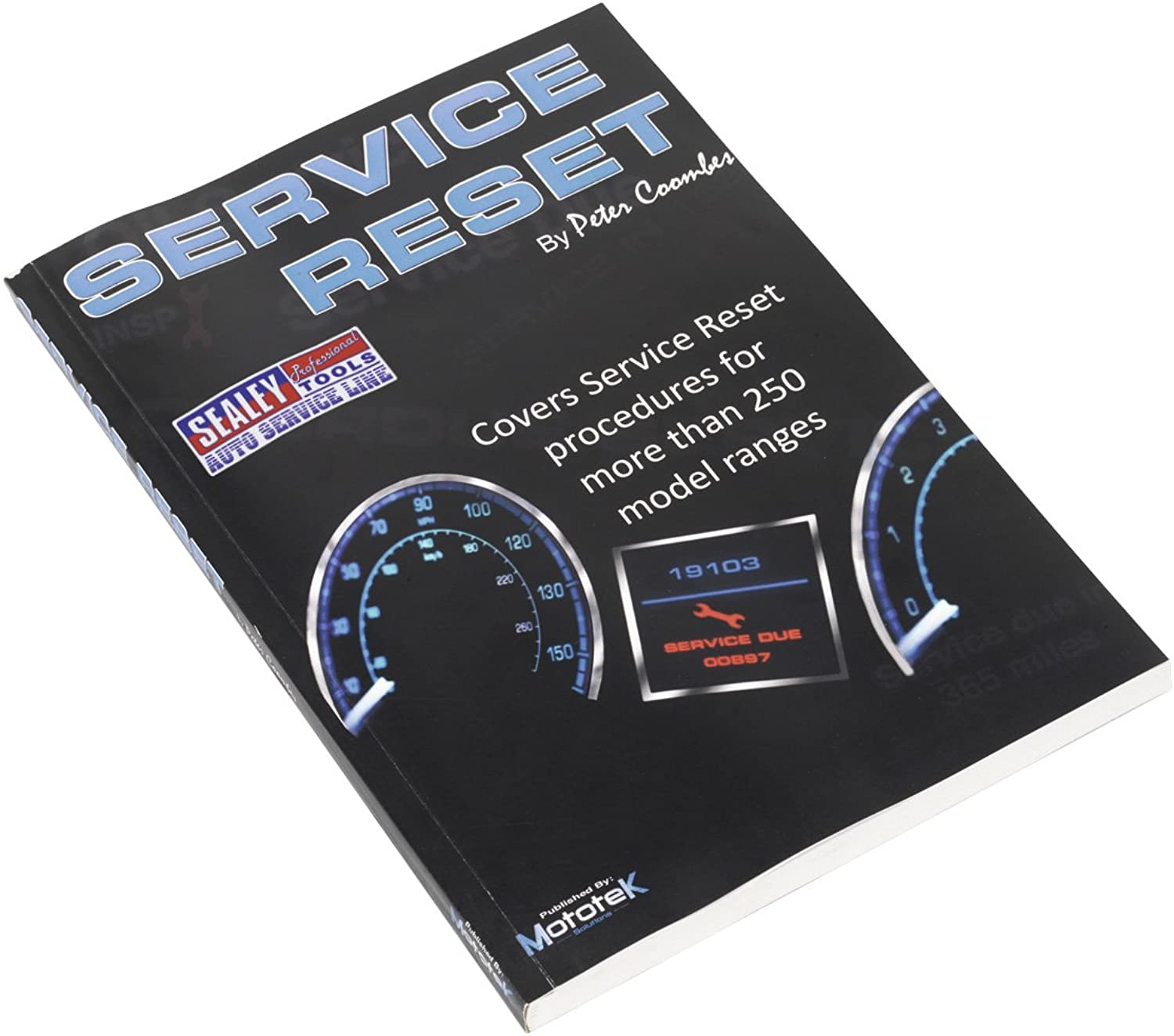 SEALEY Service Reset Manual B0041SUP7A | Angemessener Preis