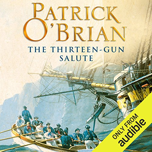The Thirteen-Gun Salute audiobook cover art