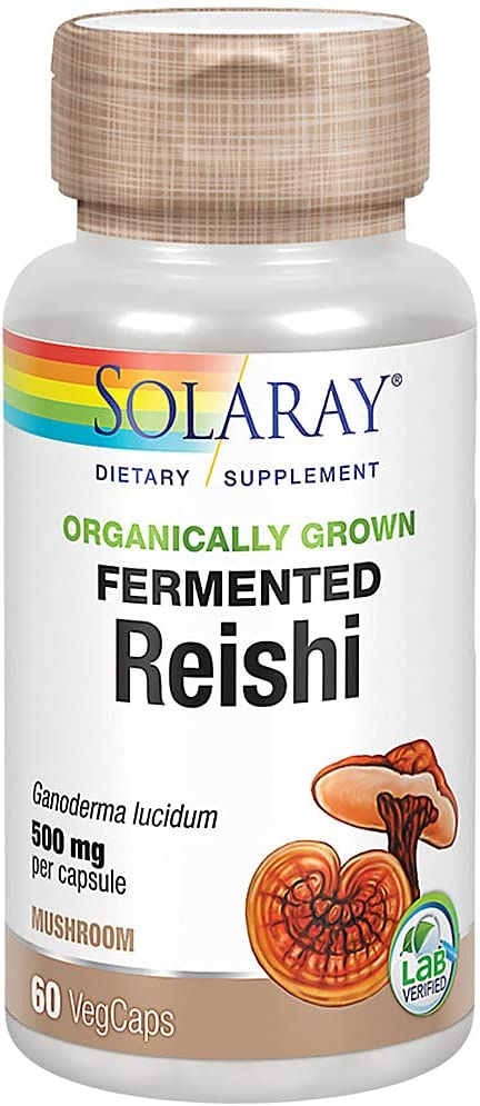 Our shop OFFers Price reduction the best service Solaray Fermented Reishi Mushroom Heart Immune 500mg Healthy