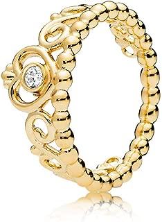 My Princess Tiara 18k Gold Plated Shine Collection Ring