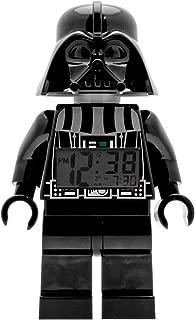 ClicTime Lego Star Wars 9002113 Darth Vader Kids Minifigure Light Up Alarm Clock |..