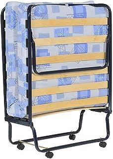 AltoBuy First - Lit Pliant à roulettes 80x190cm