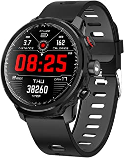 Padgene Smartwatch Reloj Inteligente IP68 Impermeable Bluetooth SmartWatch con Múltiples Modos de Deportes, Fitness Tracke...