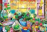 Buffalo Games - Aimee Stewart - Good Vibes - 2000 Piece Jigsaw Puzzle, Multicolor