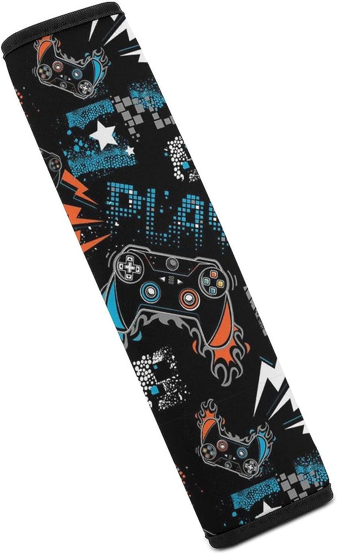 San Diego Mall ZIXKPEZMG Gamer Contoller Play half Car Cover Shoulder Belt Seat Pad