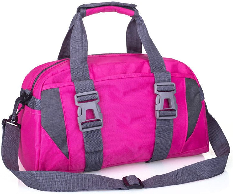 Yoga Bag Travel Bag Yoga Mat Backpack Fitness Bag Yoga Supplies BO3 pink red