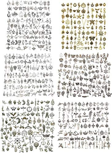 600pcs Wholesale Bulk Charms for Jewelry Making Supplies Bracelet Charms Necklace Pendant Earring product image