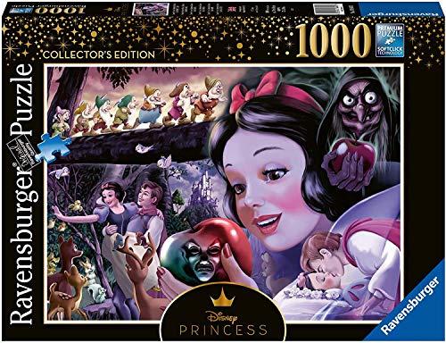 Ravensburger Snow White (Disney Heroines Collector's Edition) Puzzle 1000 Pz - Disney, Puzzle para adultos