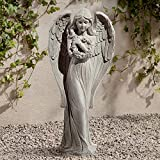 John Timberland Standing Angel Victorian Outdoor Statue 25
