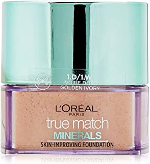 L'Oréal Paris True Match Mineral Foundation 1.W Ivory