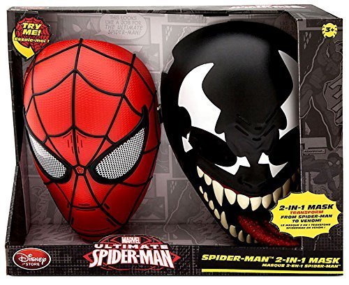 Ultimate Spider-Man Spider-Man 2-in-1 Mask Talking Roleplay Toy [Spider-Man and Venom]