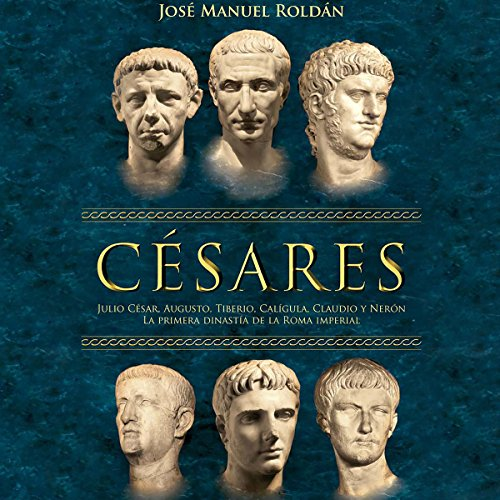 Césares [The Cesars] audiobook cover art