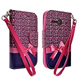 Galaxy Wireless Magnetic Leather Flip Wallet Pouch For...