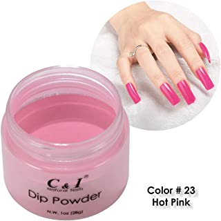 C & I Dipping Powder Color No.023 Hot Pink Red Color System