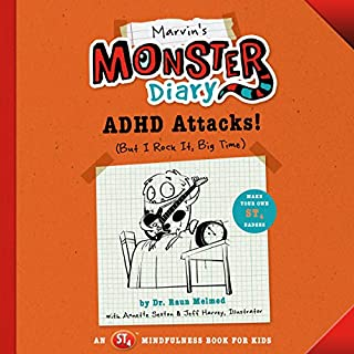 Marvin's Monster Diary: ADHD Attacks! (And I Rock, Big Time) cover art