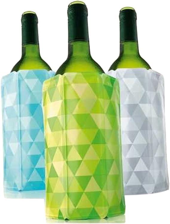 Vacu Vin Rapid Ice Wine Cooler - Set of 3 - Diamond Green