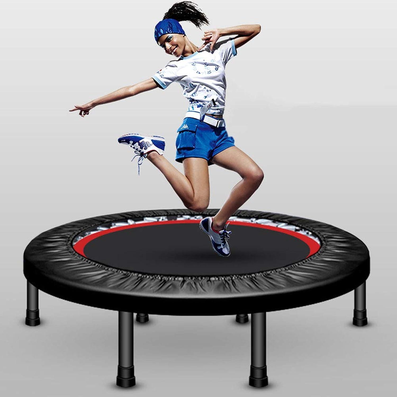 HXZZP Trampolin,Fitness Trampolin Indoor Trampolin Faltbar Klappbare ,Ideal für Fitness-Training, Gewichtsverlust(40 Zoll), belastbar bis 200 kg