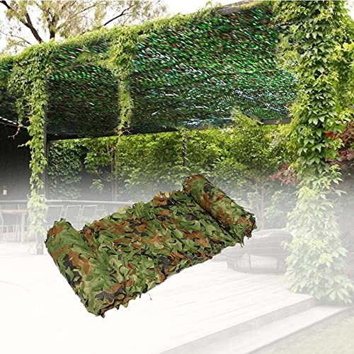 YiDD Red de Camuflaje Camuflaje Protector Solar Net Caza y Juego Toldos De Jardín Fiesta del Tema Caza al Aire Libre Varios tamaños y Colores (Size : 5x5m.4x16.4ft)