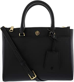 30684dc1e72 Tory Burch Women s Small Robinson Double-Zip Leather Top-Handle Bag Tote