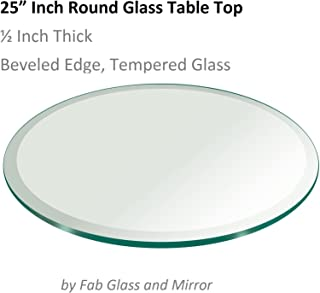 Best 25 inch round glass Reviews