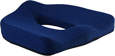 Almofada de almofada de assento de espuma viscoelástica Healthy Orthopaedic para alívio de hemorróidas almofada almofada p...