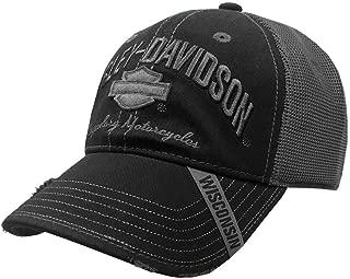 Men's Baseball Cap, H-D Bar & Shield Mesh Hat, Black BC51654