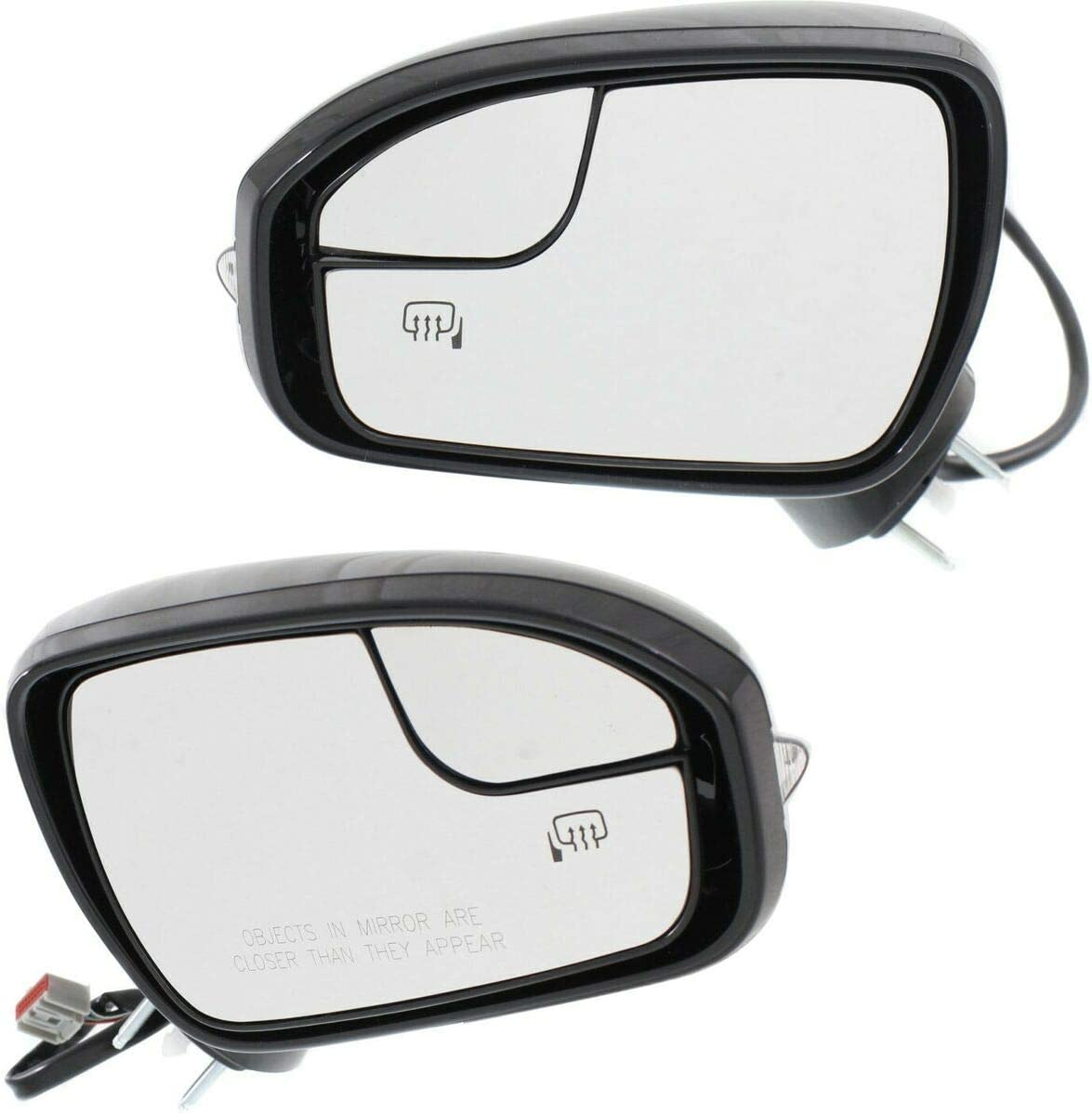 Credence Set of Daily bargain sale 2 Mirrors Driver Passenger Heated LH Side Compatible RH